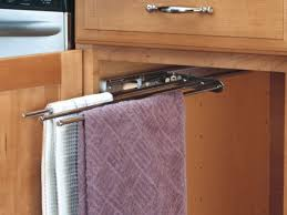kitchen towel bars ideas kitchen towel rack sink the kienandsweet furnitures