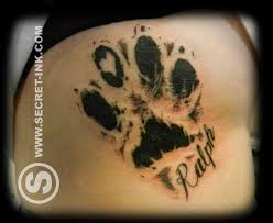 best 25 paw print tattoos ideas on pinterest dog tattoos paw