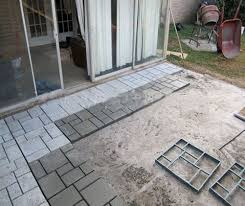 Quikrete Paver Mold by Driveway Paving Pavement Mold Patio Concrete Stepping Stone Path