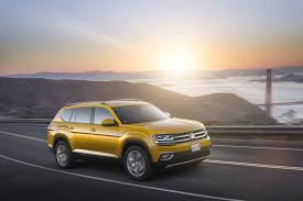 volkswagen suv 2016 2018 volkswagen atlas crossover revealed launches spring 2017