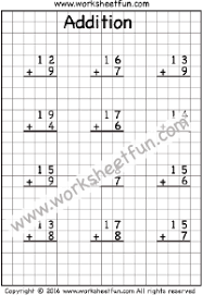 addition regrouping free printable worksheets u2013 worksheetfun
