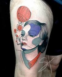 marvelous tattoos that combine realistic u0026 abstract designs