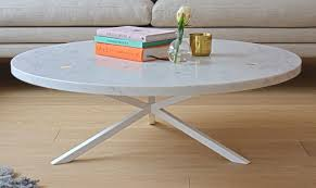 marble sofa table noearlybirds per söderberg neb round sofa table in marble