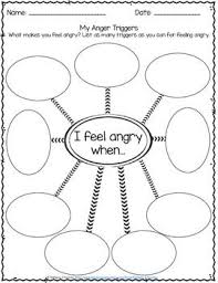 Anger Management Worksheets For Identifying Triggers For Anger Free By Pathway 2 Success