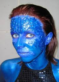 Mystique Halloween Costume Mystique Costume Liquid Latex U2013 Breanna Cooke