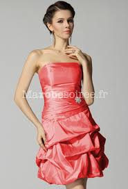 robe corail pour mariage robe bustier corail robe marin mode daily