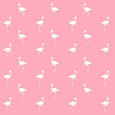 wallpaper with pink flamingos pink flamingos pattern mixed media by christina rollo
