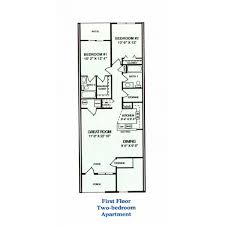 two bedroom apartment floor plans middletown apartments floor plans