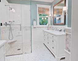 cape cod bathroom designs quarry tile bathroom traditional with curbless shower freestanding