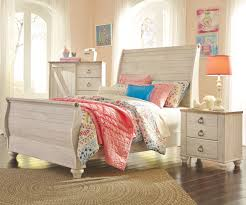 Ashley Furniture Kid Bedroom Sets Willowton Full Size Sleigh Bed B267 Ashley Kids Furniture Kids