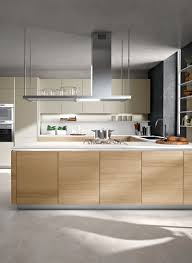 Kitchen Cabinet Surfaces Balanced And Meditative Calm Snaidero Orange Kitchen Design