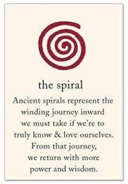 single spiral celtic card celtic symbols pinterest spiral