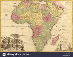 Maps Of Africa 100 Slave Trade Map Of Africa St Lucia Slave Census Of 1815