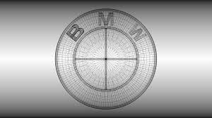 logo bmw 3d ordinary 2013 bmw 3 series white 5 bmw logo 3d model obj blend