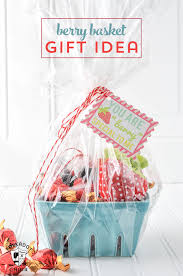 basket gift ideas strawberry gift basket ideas the polka dot chair