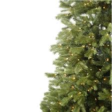 9 foot pre lit tree with clear lights faux trees