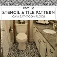 bathroom stencil ideas bathroom stencils stencil stories