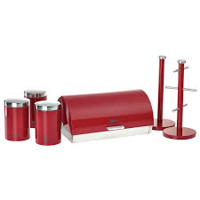 Red Canisters For Kitchen 100 Red Kitchen Canisters Sets Canisters Canister Sets