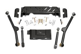 rough country 4 6in jeep long arm upgrade kit 84 01 xj cherokee