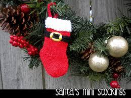 santa s mini ornament knitting pattern on luulla