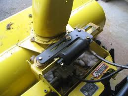 snowblower chute wire routing help mytractorforum com the