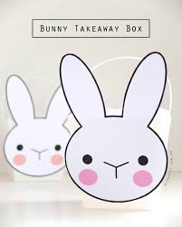bunny takeaway box with printable my poppet makes