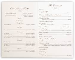 what is a wedding program brown birds wedding church ceremony programs documents and designs