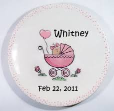 personalized baby birth plates personalized birth plates personalized baby gifts baby bibs etc