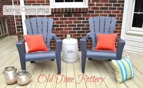 Patio Spring Chair by Spring Patio Decorating Do More For Less