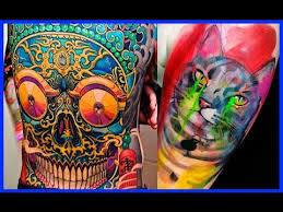 the best color tattoos colorful tattoos