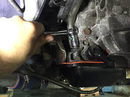 replacing a broken automatic transmission dipstick tube u2014 joe u0027s