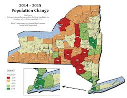 Ny State Counties Map by Nys Census U2013 Population U2013 Andy Arthur Org