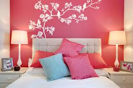 Creative Bedroom Paint Ideas by Creative Bedroom Wall Paint Designs H33 For Home Decoration Idea