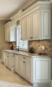 Pictures Of Antiqued Kitchen Cabinets Kitchen Design Ideas Granite Countertop Valance And Countertop