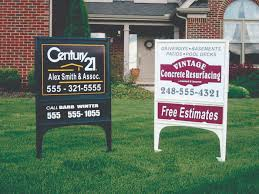 Sign Stands by Realicade Real Estate Sign Post Stands