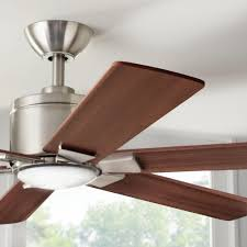 home decorators collection renwick 54 u0026 034 brushed nickel ceiling fan