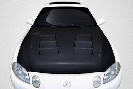 2002 lexus sc430 hood for sale 92 00 lexus sc ts 1 carbon fiber creations body kit hood