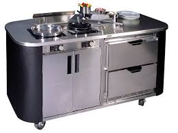cuisine en inox modulaire professionnelle mobile culinary