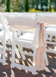Ruffled Chair Covers Coral Ruffle Wedding Chair Sashes For Hire Diy Or Set Up West
