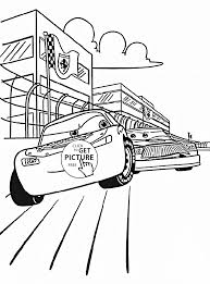 disney cars race coloring page for kids disney coloring pages