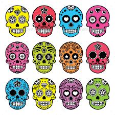 sugar skull dia de los muertos by redkoala