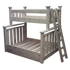 Single Over Double Bunk Bed Products Are Available At The Cutters - Single double bunk beds