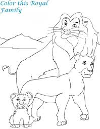 printable lion coloring pages for kids to print mountain pictures