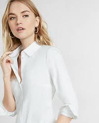 sleeve white blouse s shirts button up fashion shirts