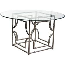 round glass top dining room table diamond sofa avalondt avalon round glass top dining table on