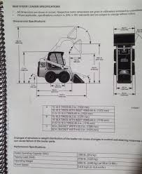 bobcat 753g 753 g operation u0026 maintenance manual book 6900969