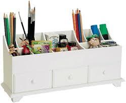 Vintage Desk Organizers Desk Recollections White Wood Desktop Carousel Scrapbooking