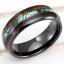black weddings rings images Happy laulea handmade wedding rings koa wood wedding rings jpg