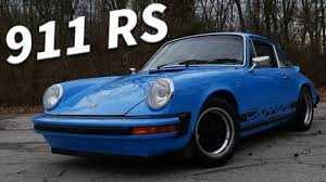 vintage porsche blue the best classic porsche 1974 porsche 911 carrera rs review