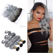 can ypu safely bodywave grey hair malaysian body wave grey hair weave with full lace frontal silver
